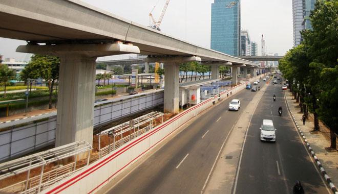 perbaikan jembatan layang
